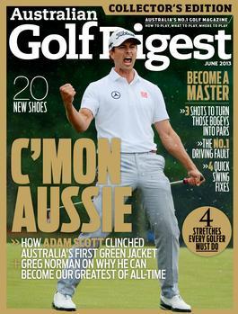 Australian Golf Digest Magazine   from AU$75.00