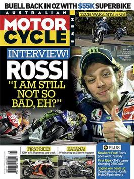 Australian Motorcycle News Magazine   from AU$124.95