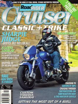 Australian Road Rider Cruiser, Classic + Trike Magazine   from AU$39.00