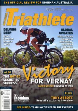 Australian Triathlete Magazine   from AU$77.50