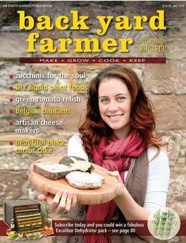 Back Yard Farmer Magazine   from AU$30.00