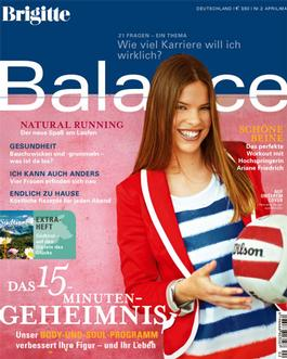 Brigitte Balance (germany) Magazine   from AU$82.80