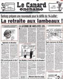 Canard Enchaine (france) Magazine   from AU$283.92