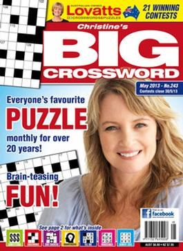 Christine`s Big Crossword Magazine   from AU$77.00