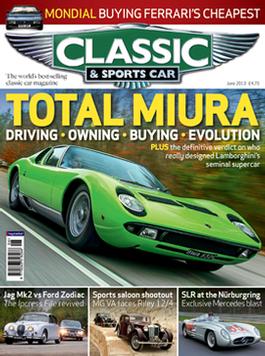 Classic & Sports Car (uk) Magazine   from AU$117.30