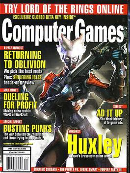 Computer Games (usa) Magazine   from AU$122.00