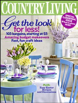 Country Living Usa Magazine   from AU$196.75