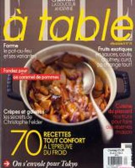 Elle A Table (france) Magazine   from AU$66.00