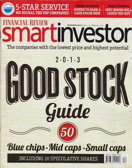 Financial Review Smart Investor Magazine   from AU$85.00