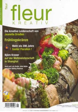 Fleur Kreativ (german) Magazine   from AU$82.00