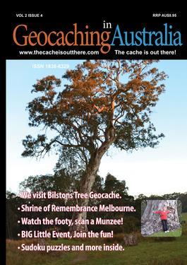 Geocaching In Australia Magazine   from AU$28.00