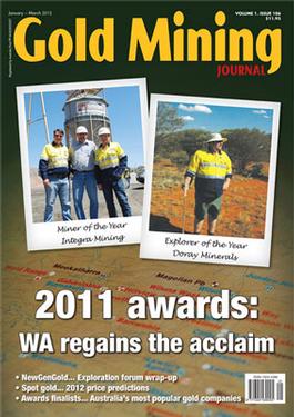 Gold Mining Journal Magazine   from AU$50.00