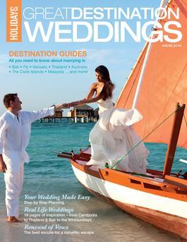 Great Destination Weddings Magazine   from AU$4.95