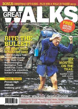 Great Walks Magazine   from AU$55.00