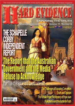 Hard Evidence Magazine   from AU$38.00