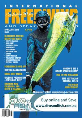 International Freediving & Spearfishing News Magazine   from AU$35.00