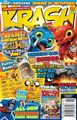 Krash Magazine   from AU$59.95
