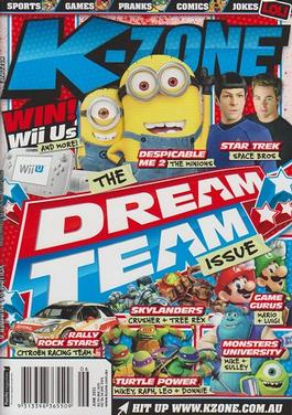 K-zone Magazine   from AU$54.00