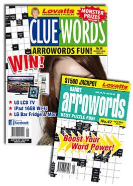 Lovatts Arrowords Combo Magazine   from AU$60.00