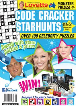 Lovatts Codecracker Starhunts Magazine   from AU$42.00