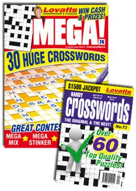 Lovatts Crossword Combo Magazine   from AU$58.00