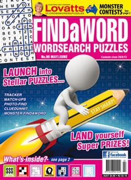 Lovatts Findaword Magazine   from AU$23.00