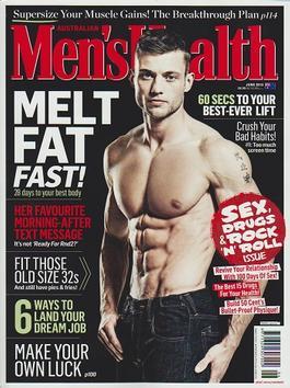 Men`s Health Magazine   from AU$79.00