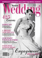 Modern Wedding Magazine   from AU$94.00