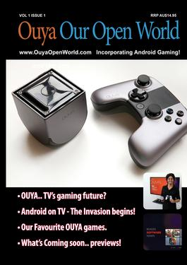 Ouya Our Open World Magazine   from AU$48.00