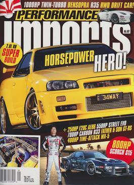 Performance Imports Magazine   from AU$91.00