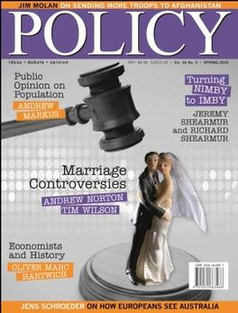 Policy Magazine   from AU$40.00