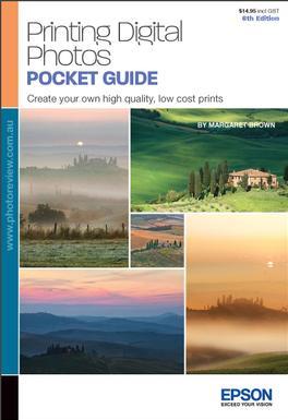 Printing Digital Photos Pocket Guide 6th Edition Magazine   from AU$19.95
