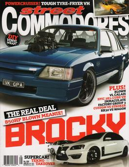 Street Commodores Australia Magazine   from AU$91.00