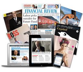 The Australian Financial Review (print + Digital) Magazine   from AU$780.00