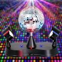 """Rotating Disco Ball W/ Led Spotlights "" from: NZ39.95"