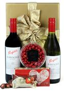 Red And White Delight - Valentines Hamper  from: AU$84.00
