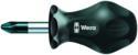 Wera 05008775003 Stubby/screwdriver Hard Ph01 X 1 In Clasic Screw/d