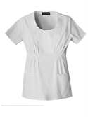 Babyphat White Here Now Embroidered Scoop Neck Top  from: USD$23.98