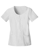 Babyphat White This Way Scoop Neck Top  from: USD$23.98