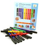 Djeco Felt Tip Brushes Rainbow Pens from: AU$15.95