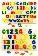 Educational Puzzles Alphabet And Numbers from: AU$19.95