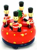 Music Box Wooden Soldiers Carousel from: AU$23.95