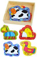 Simple Wooden Puzzle Farm Animals from: AU$17.95