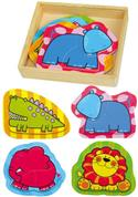 Simple Wooden Puzzle Wild Animals from: AU$17.95