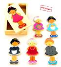 Wooden Puzzle Dress Up Girl from: AU$13.95