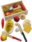 Wooden Toy Play Food Picnic Box from: AU$21.95