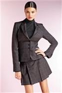 Grey Check Jacket