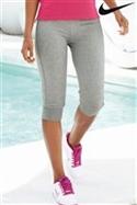 Nike Grey Cropped Pants