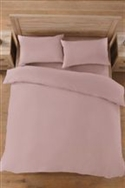 Non-iron Luxury Percale Bedset (dusky Pink)