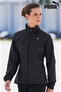 Puma Black Running Jacket